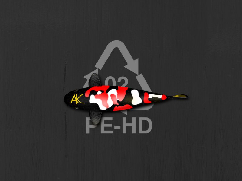 poisson sur logo PEHD